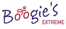 Het logo van Boogie's Extreme
