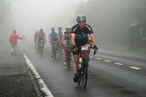 Lekker fietsweer - foto Frits van Eck